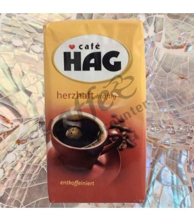 Café HAG Herzhaft kräftig cafeïnevrij
