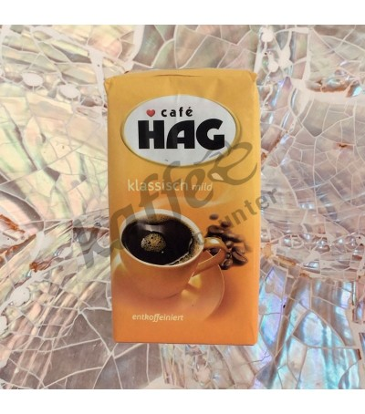 Café HAG Klassisch mild caffeïnevrij