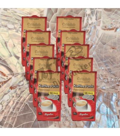 Caféclub Supercreme Regular 10x56 Koffiepads