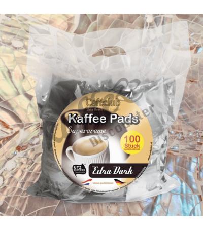 Caféclub Extra Dark 100 Kaffeepads
