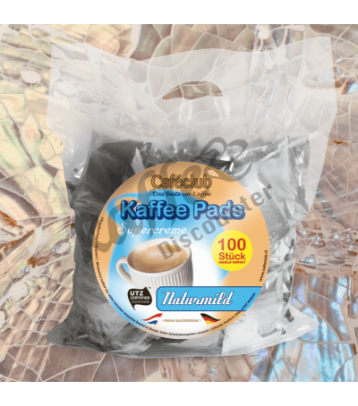 Caféclub Natur Mild 100 Kaffeepads