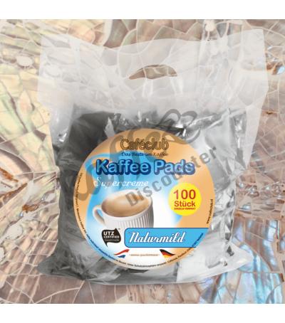 Caféclub Natur Mild 100 Koffiepads