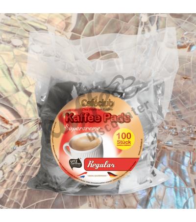Caféclub Regular 100 Koffiepads