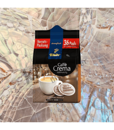 Tchibo Caffè Crema Vollmundig 36 Koffiepads