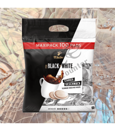 Tchibo Black 'n White 100 Coffee pads