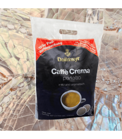 Dallmayr Caffè Crema Perfetto Value Pack 100 Coffee pads