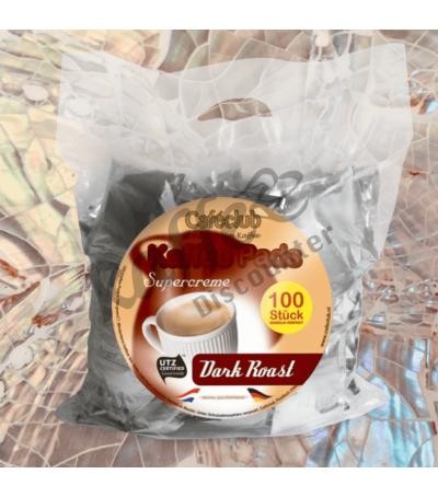 Caféclub Dark Roast 100 Koffiepads