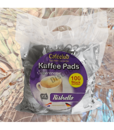 Caféclub Ristretto 100 Coffee pads