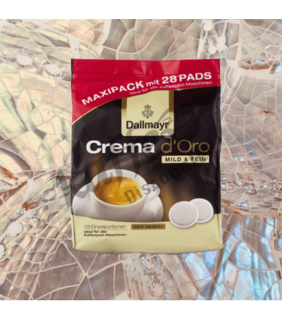Dallmayr Crema d'Oro 28 Kaffeepads