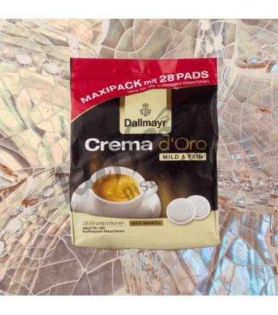 Dallmayr Crema d'Oro 28 Koffiepads