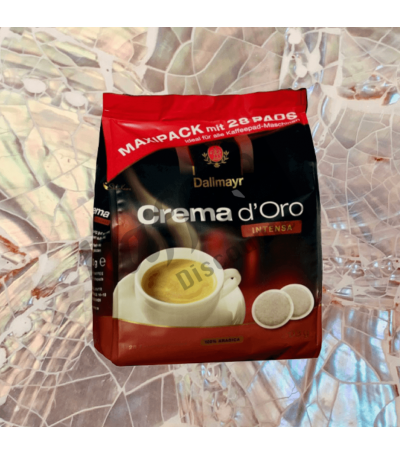 Dallmayr Crema d'Oro Intensa 28 Coffee pads