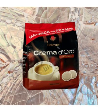 Dallmayr Crema d'Oro Intensa 28 Koffiepads