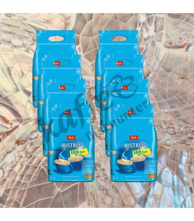 Melitta Bistro Mild 8x100 Coffee pads