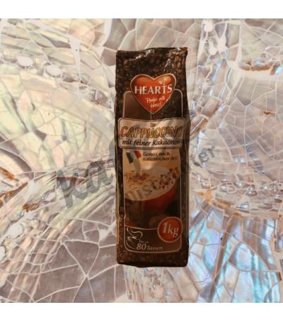 Hearts Cappuccino Cocoa