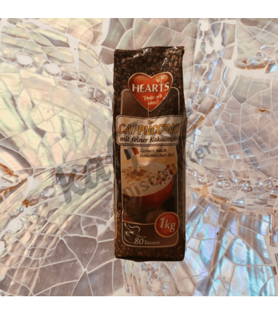 Hearts Cappuccino Kakao