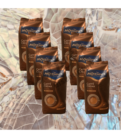 Mövenpick Caffè Crema 8 x 1 kg