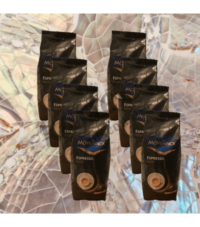 Mövenpick espresso 8 x 1 kg