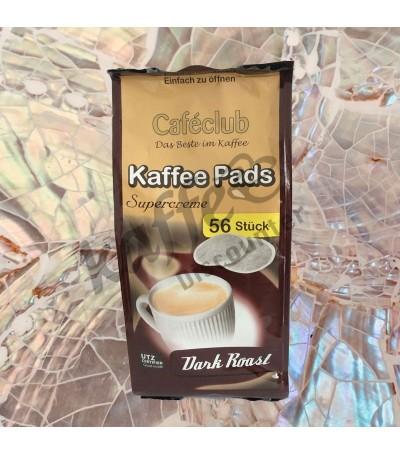 Caféclub Supercreme Dark Roast 56 Kaffeepads