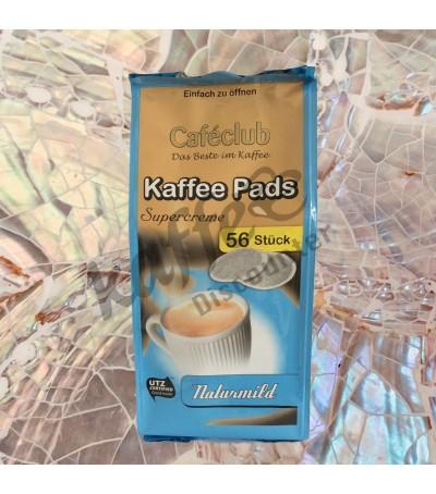 Caféclub Supercreme Naturmild 56 Kaffeepads
